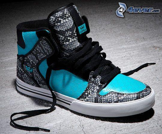 scarpa, lacci