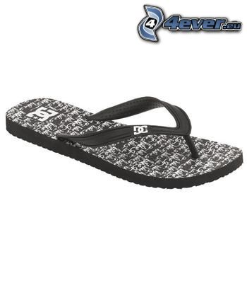 flip flops, DC Shoes