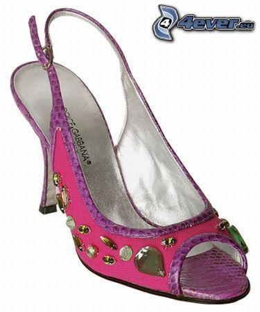 scarpa, scarpe tacco alto, tacco