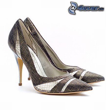scarpe tacco alto, scarpa, tacco