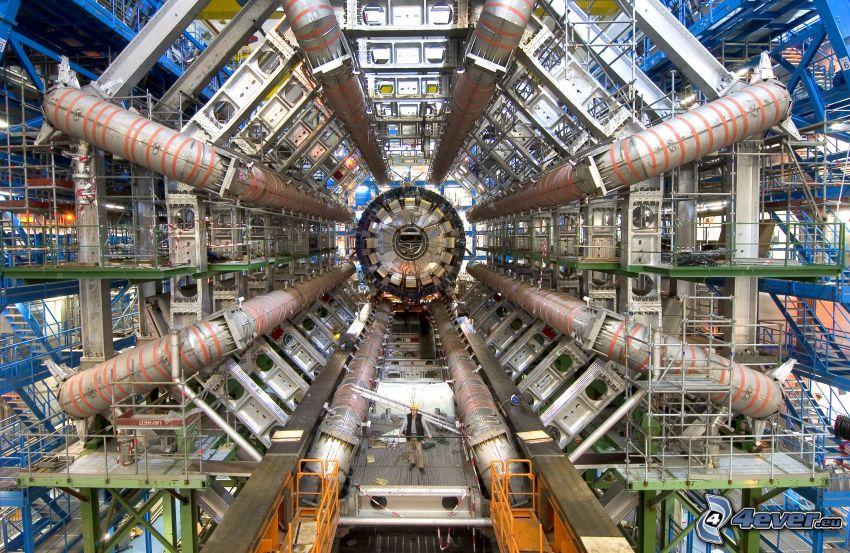 Esperimento Atlas, CERN, grande collisore di adroni LHC