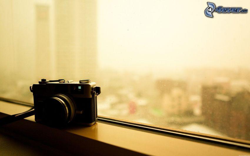 fotocamera, finestra