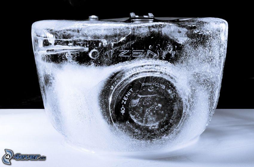 fotocamera, ghiaccio