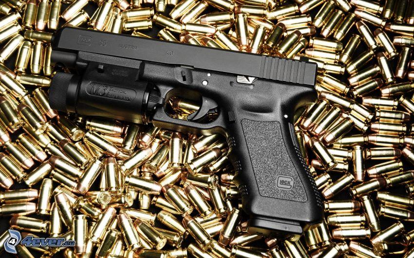 Glock, proiettili