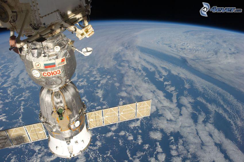 Sojuz, Stazione Spaziale Internazionale ISS, Terra dalla ISS