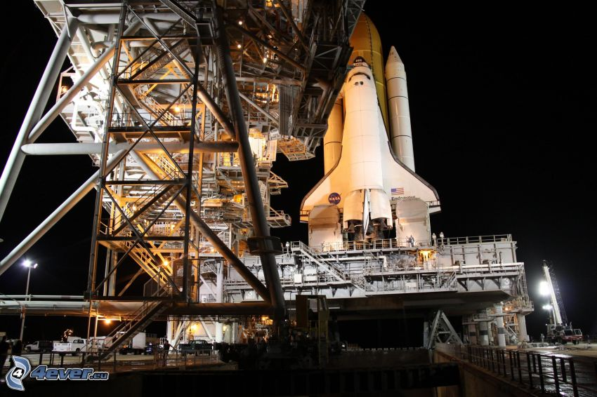 Space Shuttle, rampa di lancio