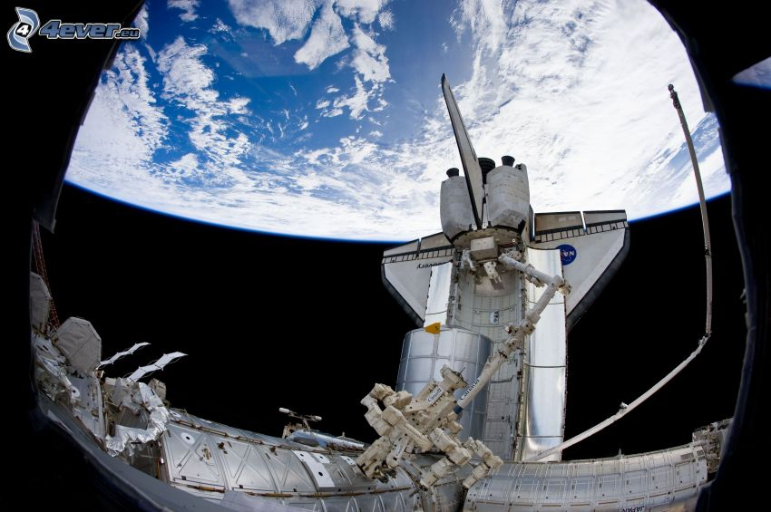 Terra dalla ISS, Space Shuttle