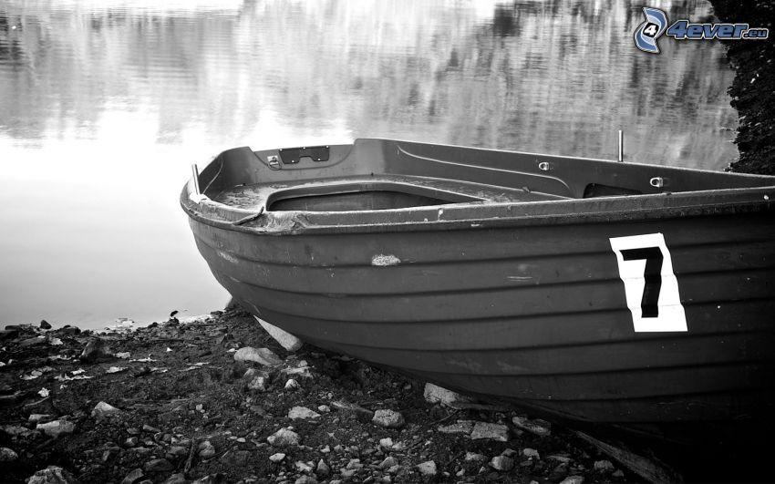 imbarcazione, lago