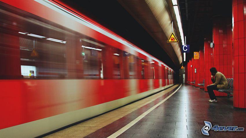metro, stazione