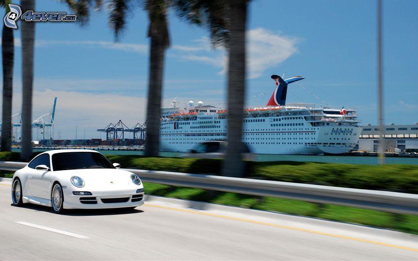 Porsche Carrera, Nave da crociera