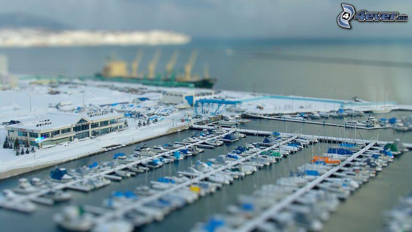 porto, diorama