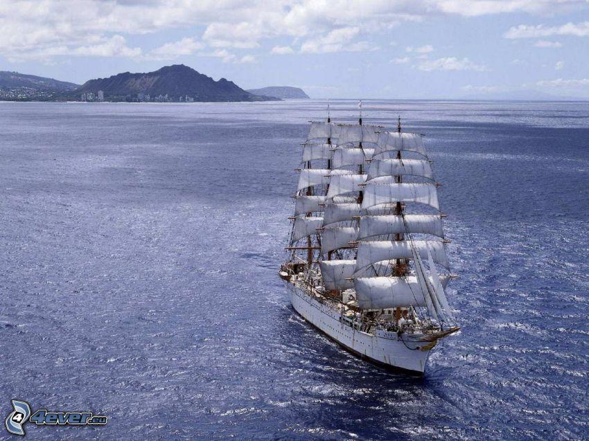 Sørlandet, barca a vela, mare
