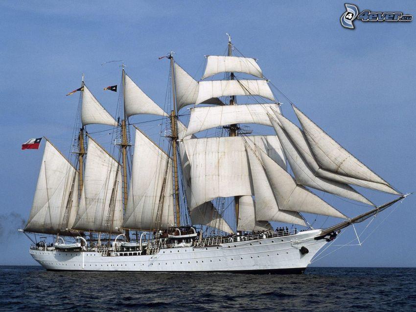 Sørlandet, barca a vela