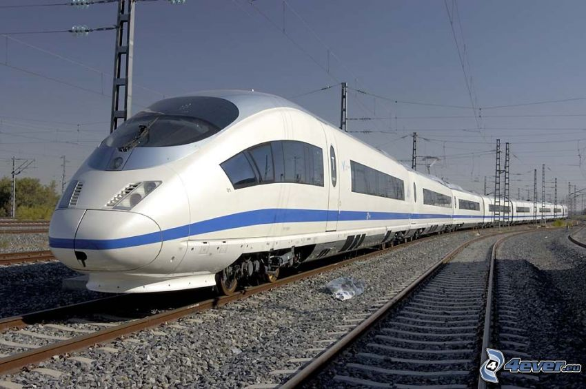CRH3, treno, rotaia vignoles