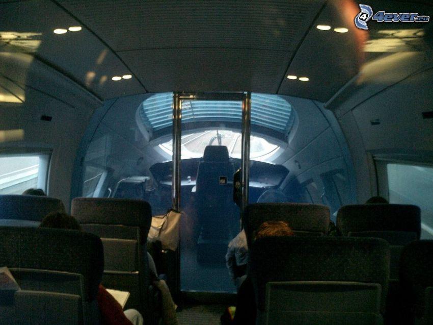 ICE 3, Cabina di pilota, interno