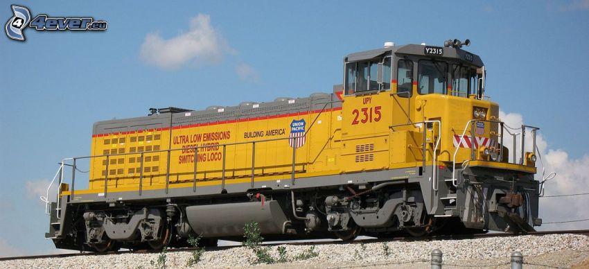 locomotiva, Union Pacific