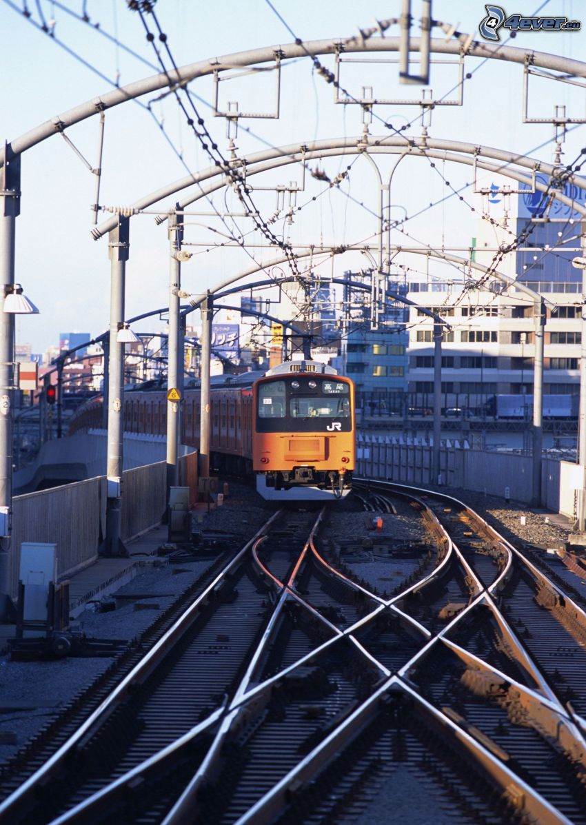 metro, ferrovia