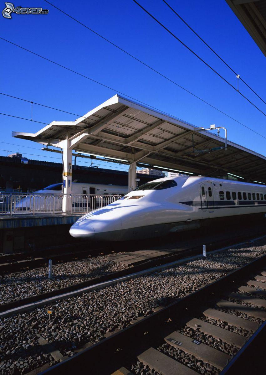 Shinkansen, Giappone, pendolino
