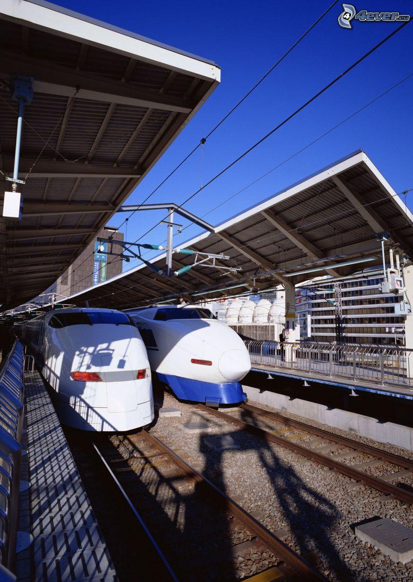 Shinkansen, Giappone, stazione ferroviaria