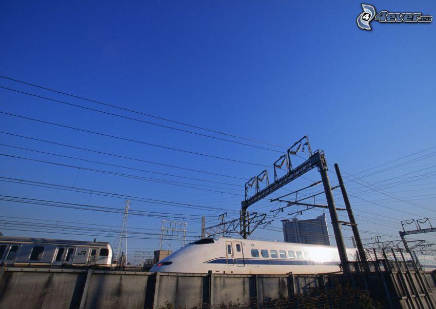 Shinkansen, pendolino, Giappone