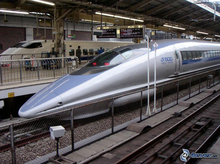 Shinkansen, treno, stazione ferroviaria