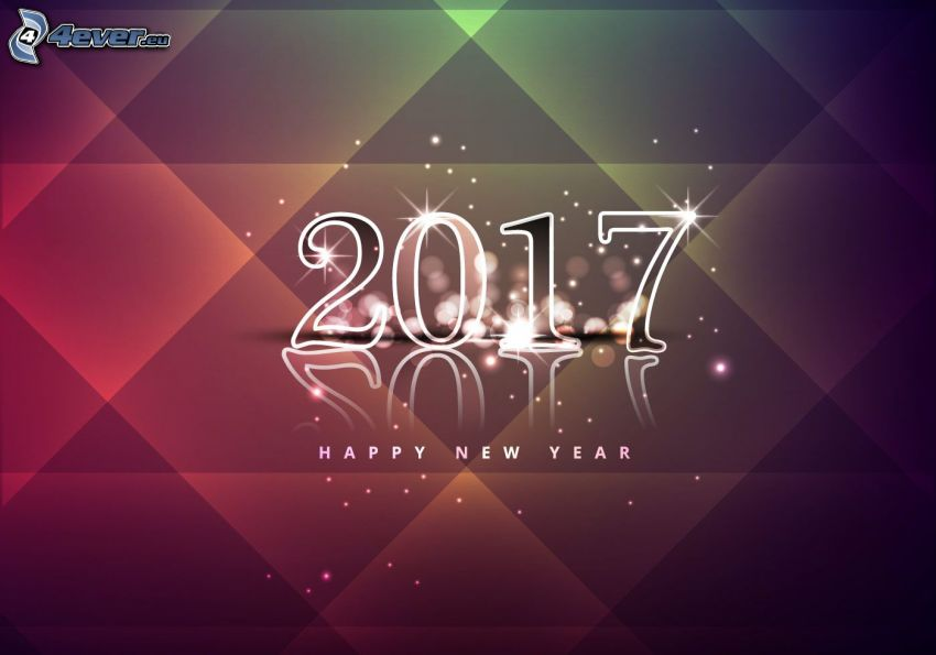2017, Felice anno nuovo, happy new year