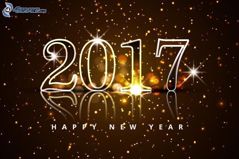 2017, happy new year, Felice anno nuovo, cerchi