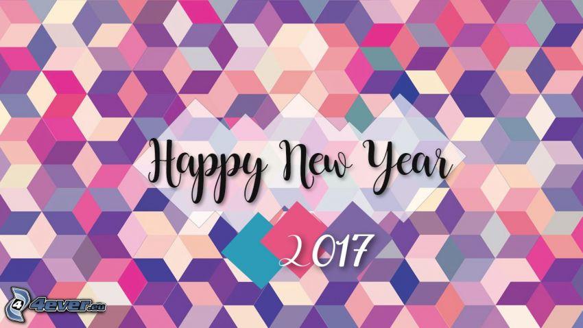 Felice anno nuovo, happy new year, 2017