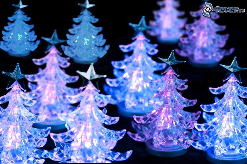 albero di Natale, luci