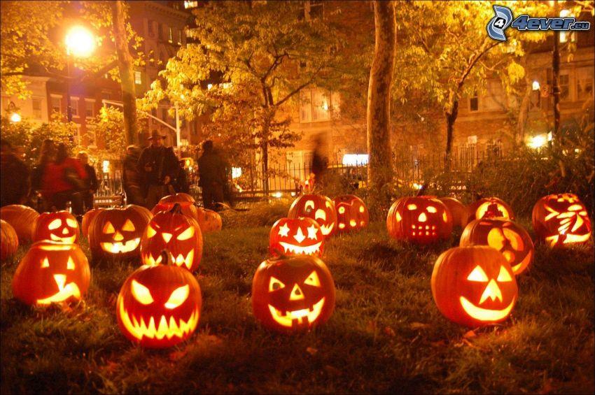 Zucche di Halloween, jack-o'-lantern