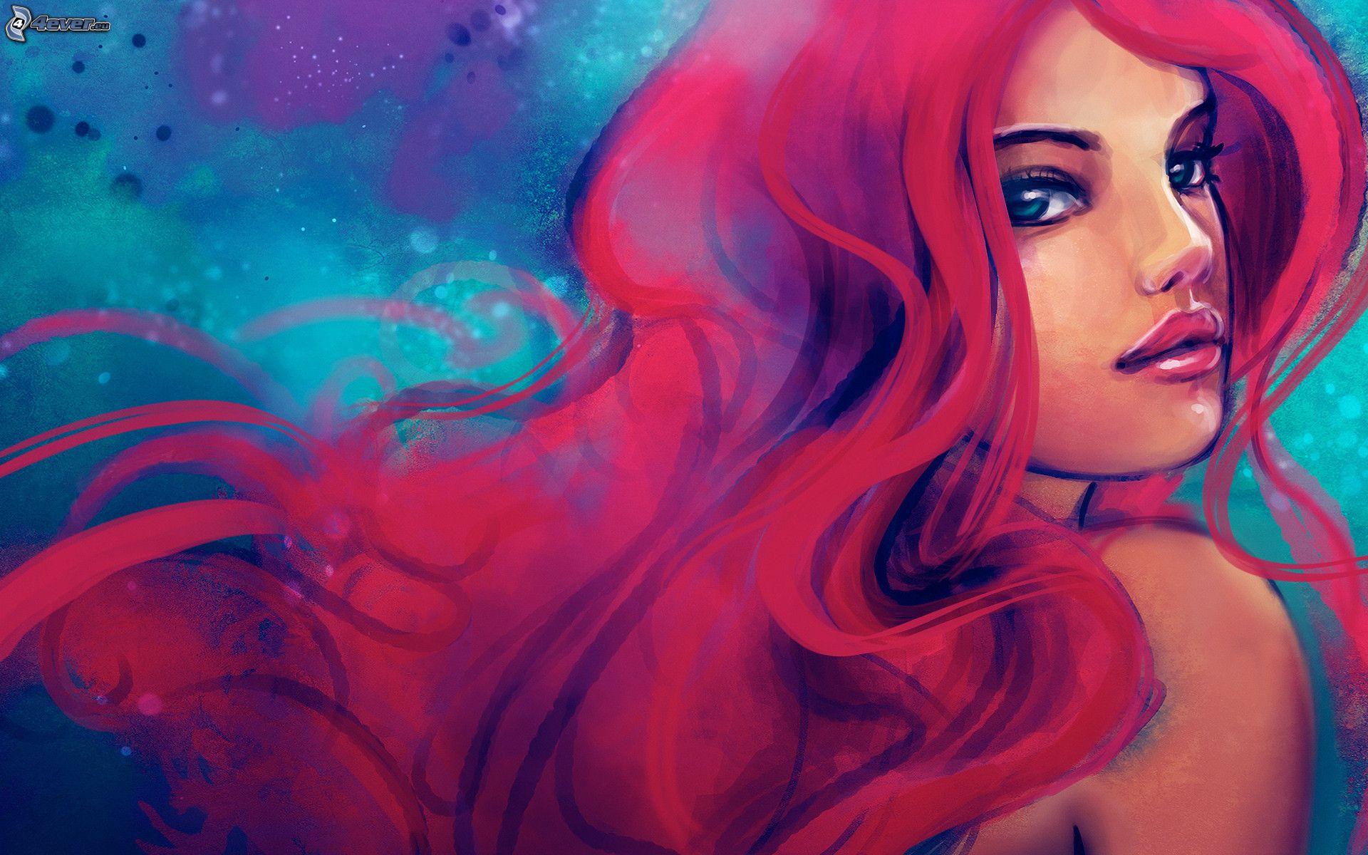Star con i capelli rossi