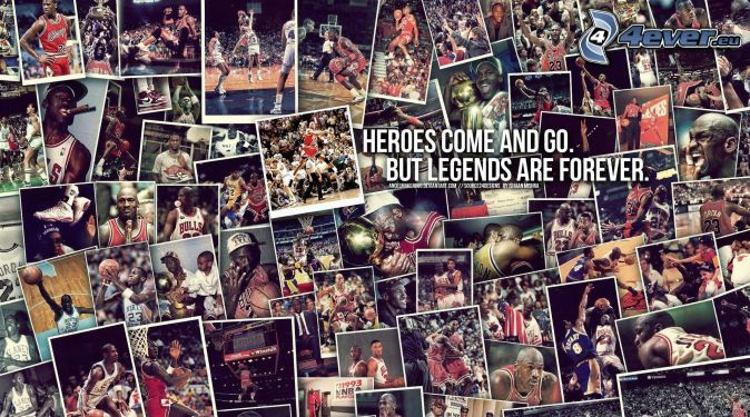 Michael Jordan, fényképek