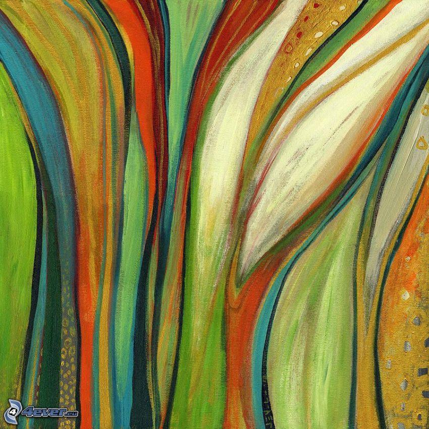 színes csíkok