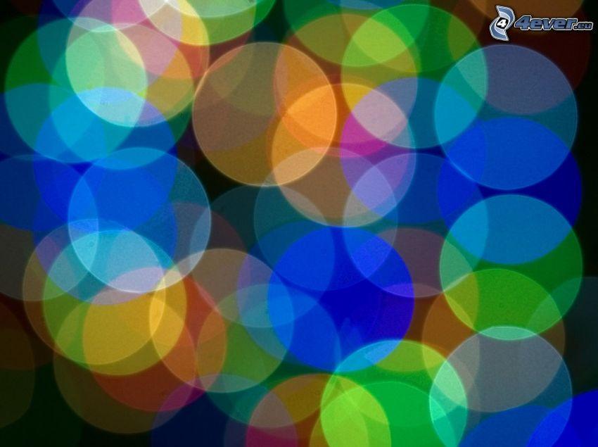 színes körök