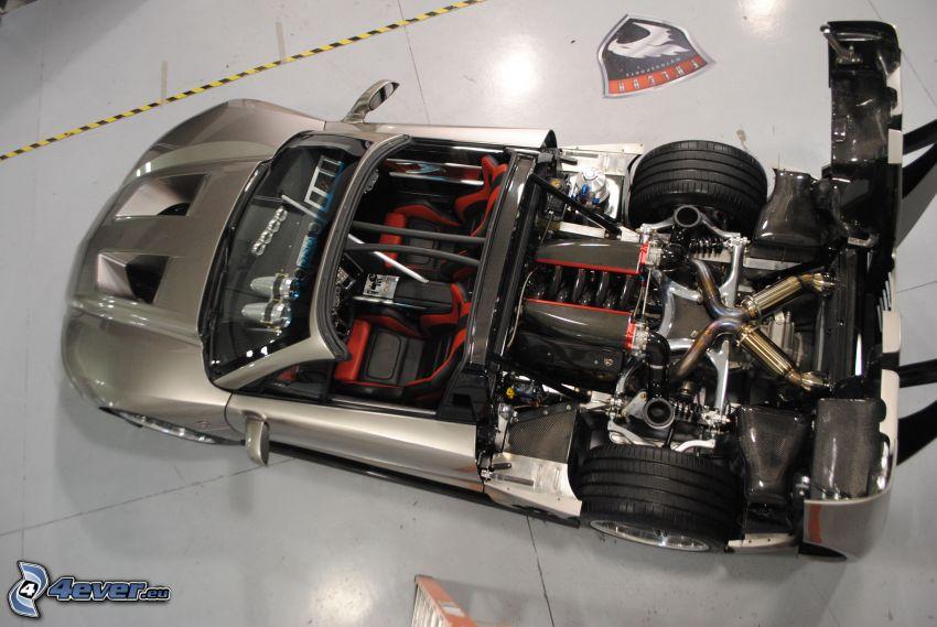 Falcon F7, motor