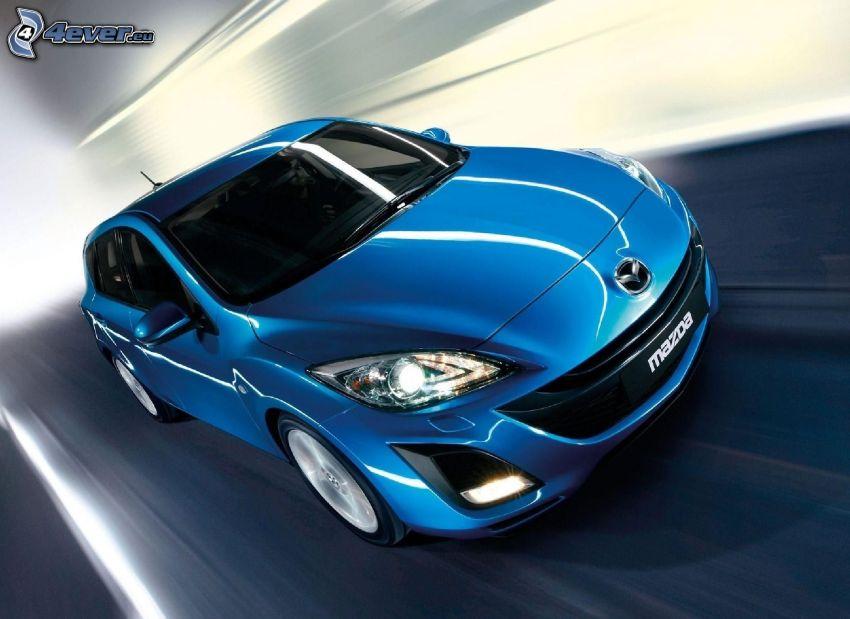 Mazda 3, sebesség