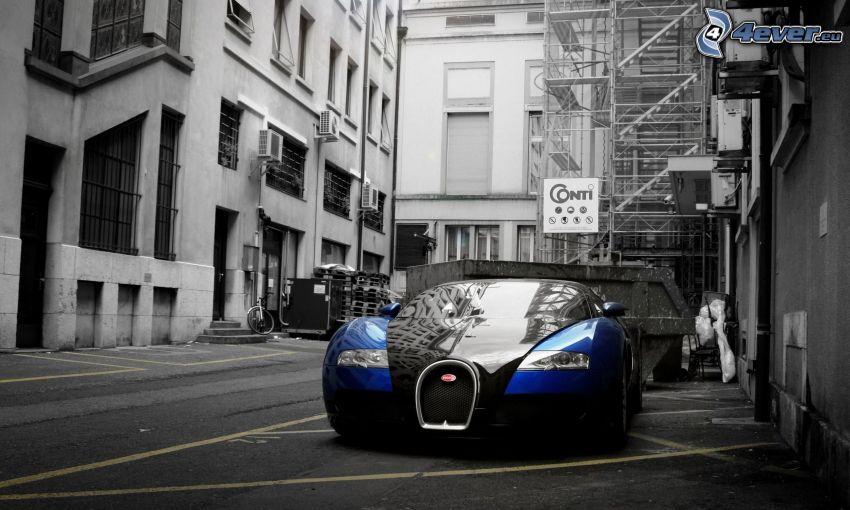 Bugatti Veyron, utca