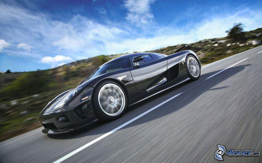 Koenigsegg CCX, út, ég