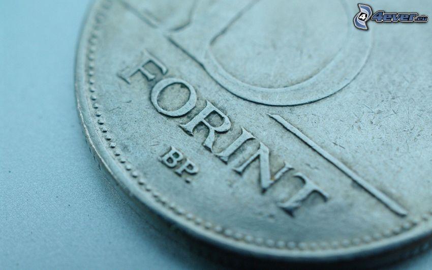 forint, érmék