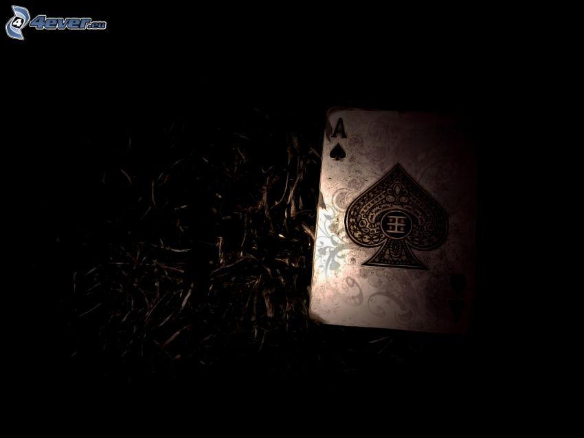 kártyák, ász