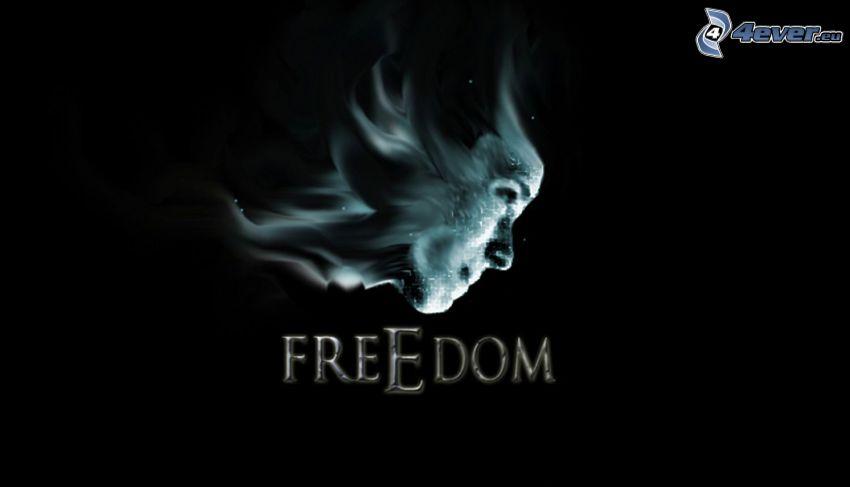 szabadság, arc