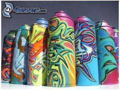 spray, graffiti