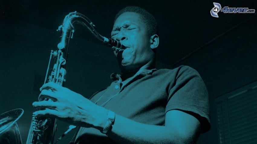 John Coltrane, szaxofonos