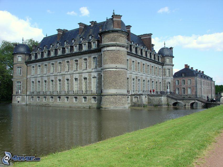 Château de Belœil, tó