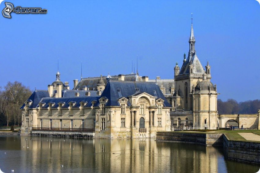 Château de Chantilly, tó