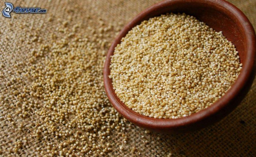 Quinoa, tál
