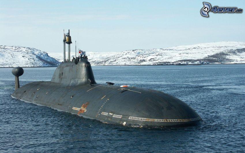 Akula tengeralattjáró, tengeralattjáró