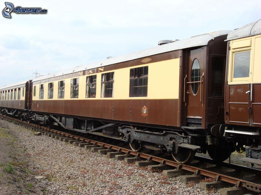 Orient Express, Pullman, történelmi vagonok, sínek
