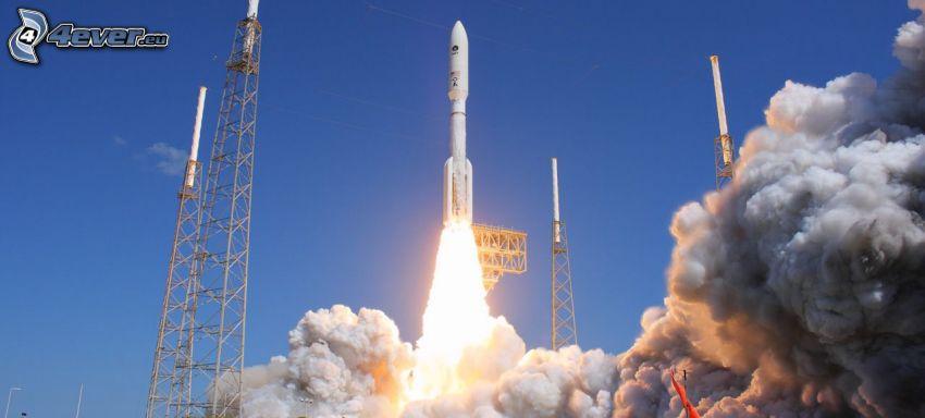 Atlas V, rakéta startolása