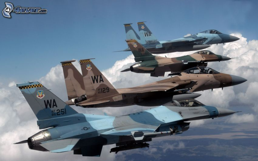 vadászrepülőgépek